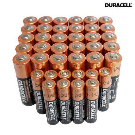 40 Piece Set Duracell Aa Aaa Batteries Duracell Batteries Duracell Batteries