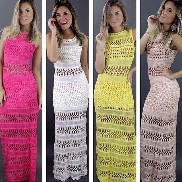 Crochet Dress Sabrina Sato