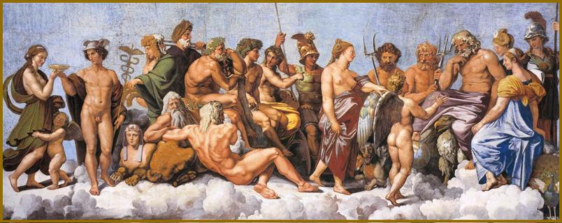 ancient rome religion gods and goddesses