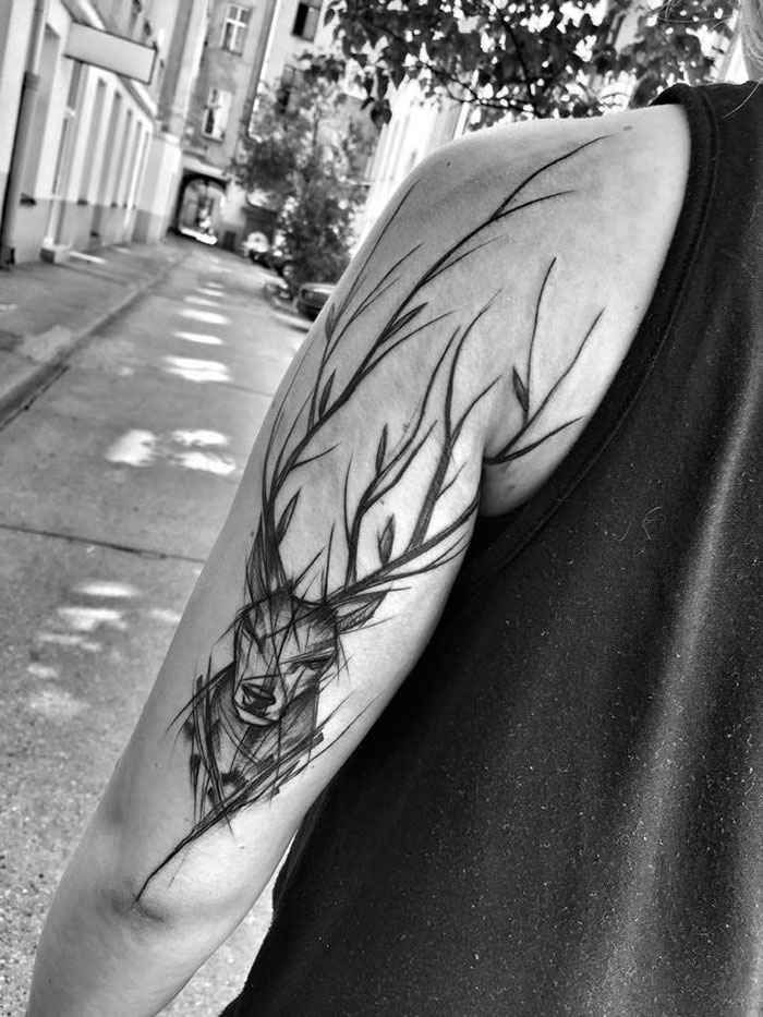 Polish Artist Shows Just How Awesome Sketch Tattoos Can Be Polish Tattoos Sketch Style Tattoos Tattoos