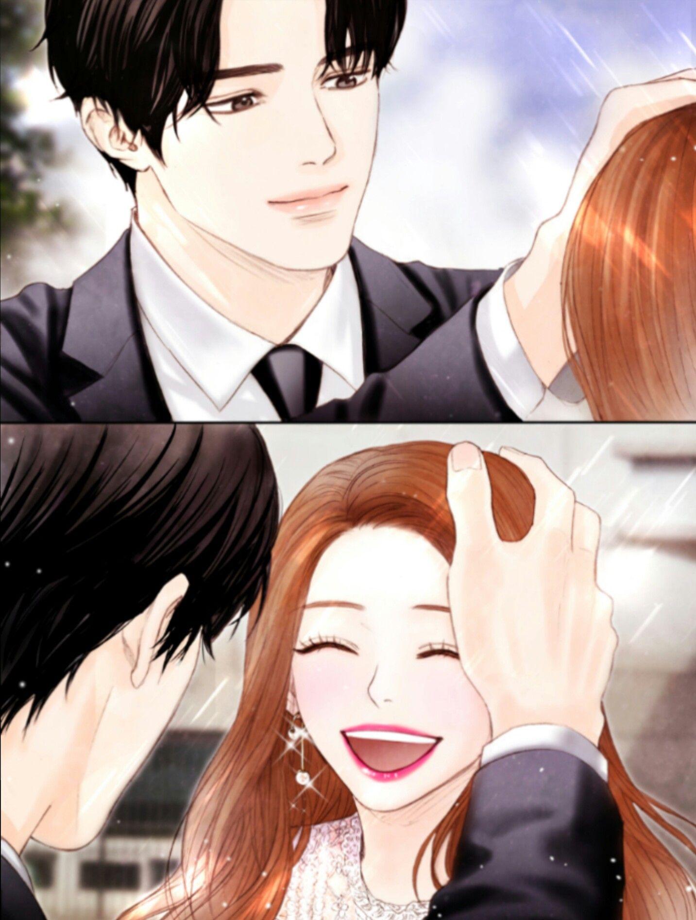 Pin oleh 🍵 여유 di ♥+♥=♥ (Dengan gambar) Animasi, Pasangan