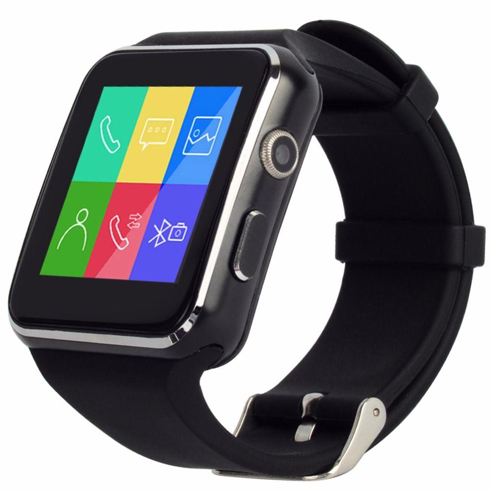 X6s Gekrummten Leinwand Bluetooth Smart Watch Uhr Smartwatch Sport Uhr Armbanduhr Fur Android Handy Mit Kamera Unterstutzung Sim Karte Smart Watch Sport Watches Wearable Device