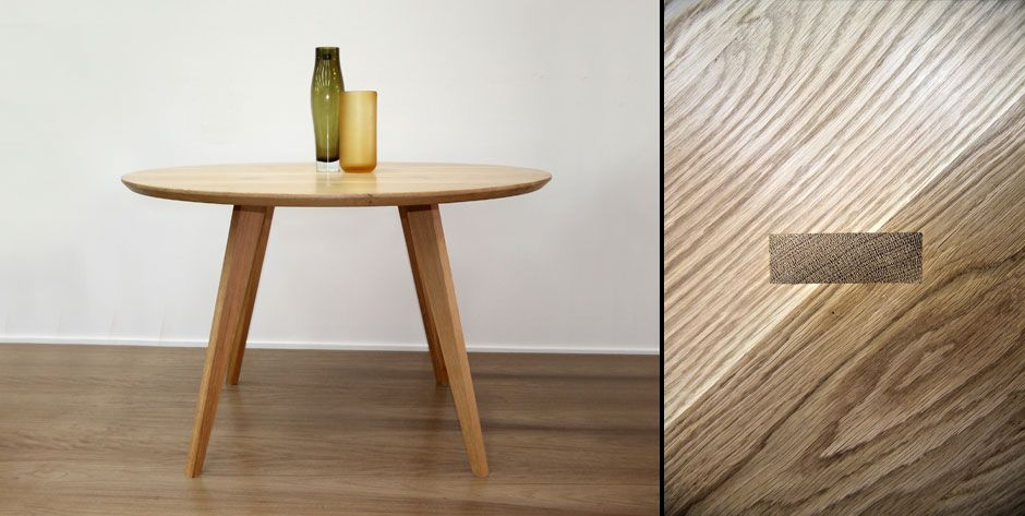 Fyra Dining Table Round Craft Design Realisation Tables