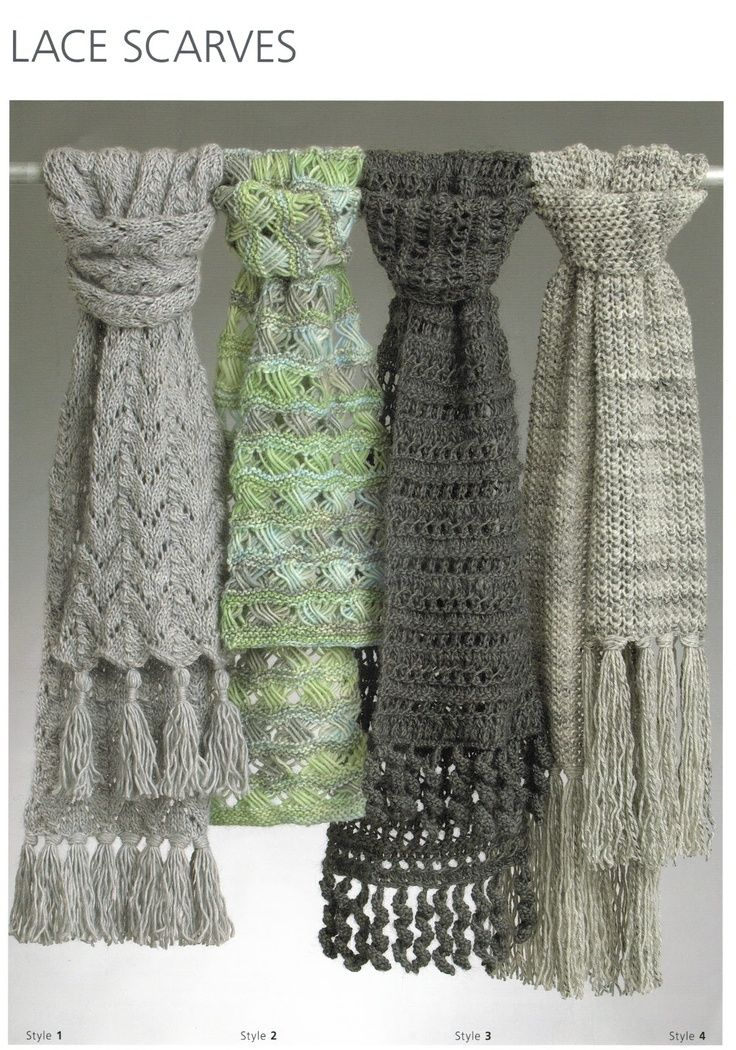 Debbie Bliss free lacy scarf knitting pattern... Just in case, I ...