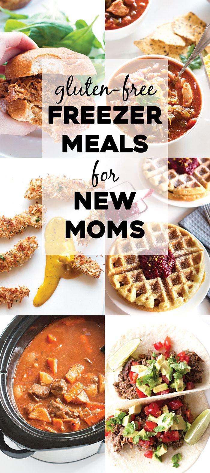 Gluten Free Freezer Meals For New Moms Gluten Free Freezer Meals