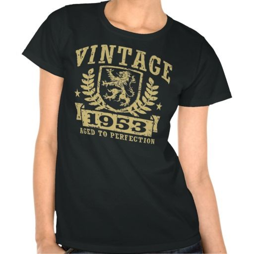 =>>Cheap          	Vintage 1953 t shirt           	Vintage 1953 t shirt We provide you all shopping site and all informations in our go to store link. You will see low prices onThis Deals          	Vintage 1953 t shirt please follow the link to see fully reviews...Cleck Hot Deals >>> http://www.zazzle.com/vintage_1953_t_shirt-235146377943252721?rf=238627982471231924&zbar=1&tc=terrest