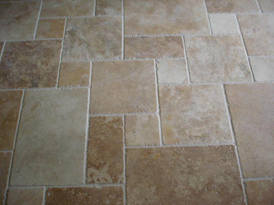 Recommended Tile Floor Ideas For Kitchen Various Size Combination Unique Kitchen Floor Tile Design Patterns Decorating Design