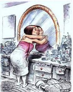 Práctica para mejorar la relación contigo mismo                                 Qué tal si hoy te das un enorme abrazo...  Feliz, consciente y productivo día.