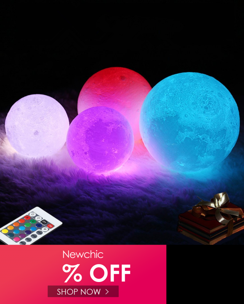 I Found This Amazing 3d Moon Lamp 16 Color Changing Usb Charging Led Night Light Remote Control Gift Christmas Decor In 2020 Led Night Light Night Light Color Change