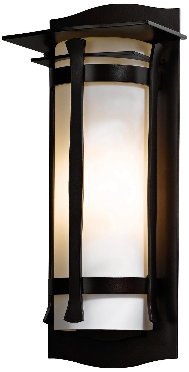 "Hubbardton Forge Sonora 19 1/4"" High Outdoor Wall Light 