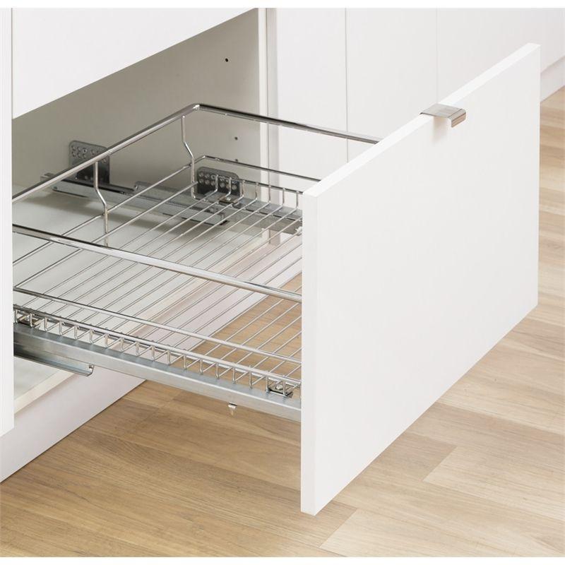 kaboodle 600mm soft close pullout basket pantry redo kitchen organisation kitchen pulls on kaboodle kitchen bunnings drawers id=43588