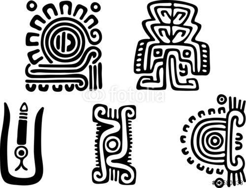 grecas aztecas - Google Search   aztec   Pinterest   Mexican art and ...