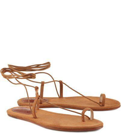 892d65e586ce Sandália Rasteira Lace Up Ginger Summer Slippers