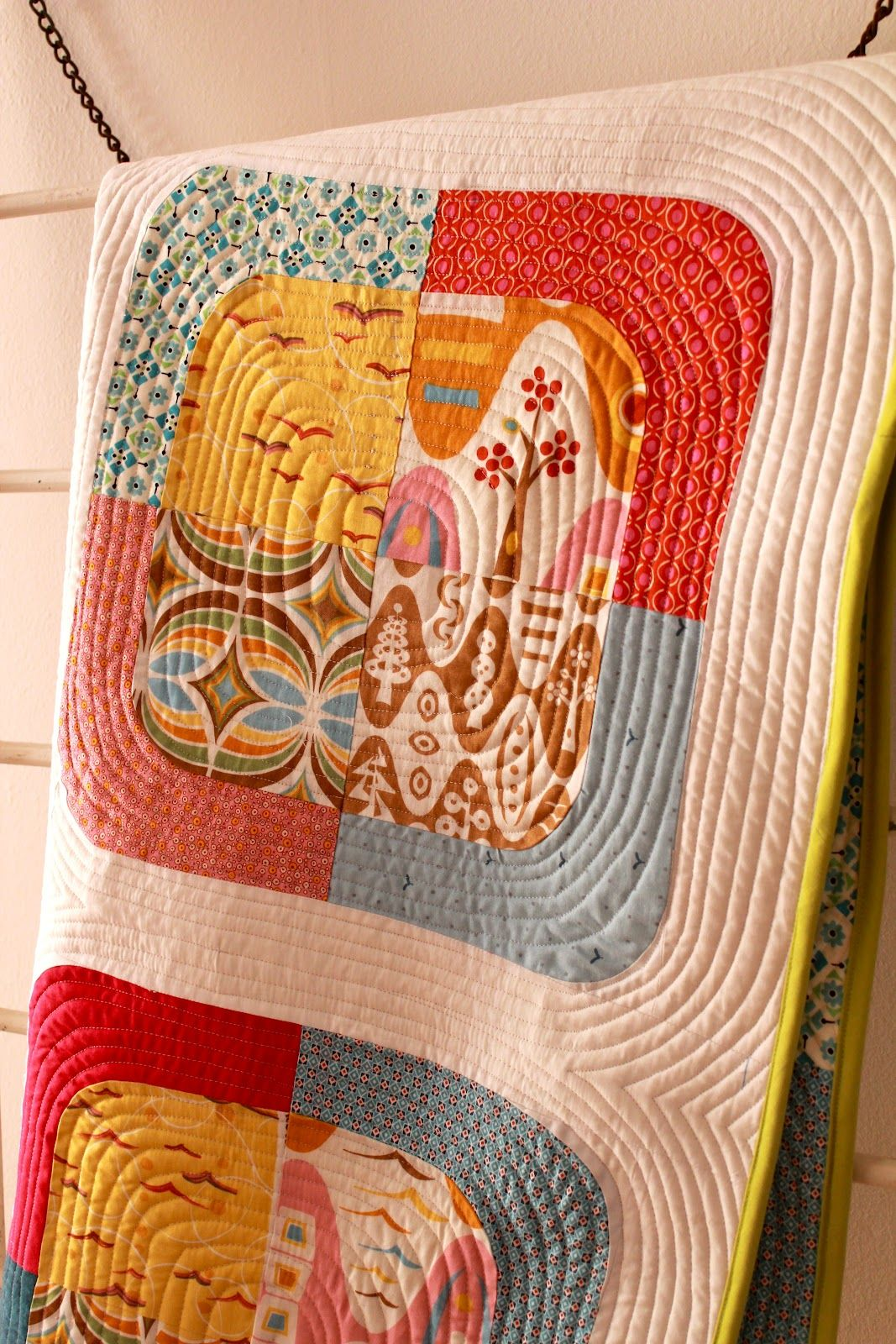 Bea Spoke Quilts: That 70\'s Quilt   Sew and sew :)   Pinterest ...
