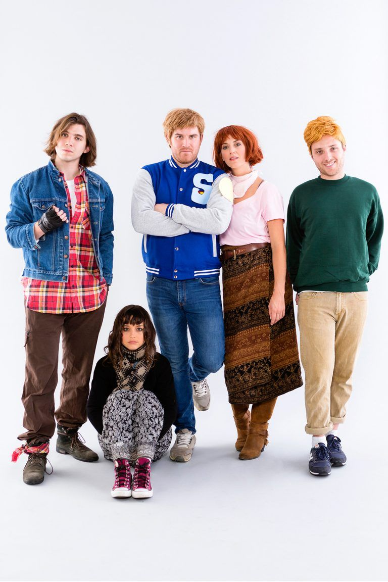 Head to Detention With This Breakfast Club Group Costume ...