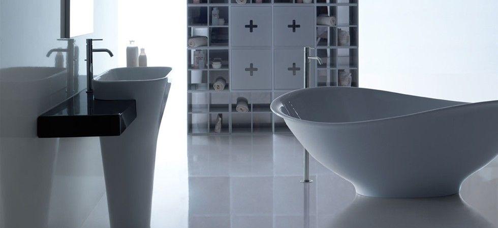 Piatti doccia lavabi che arredano sanitari per tutte le - Sanitari bagno dimensioni ...