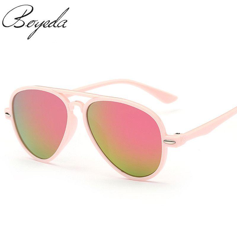 bf6bdacf59 Brand Fashion Boys Kids Pilot Sunglasses Style Brand Design Children Sun  Glasses 100%UV400 Protection Oculos De Sol Gafas Like if you remember Get  it here