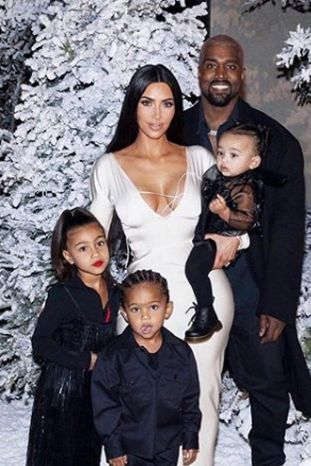 Whoops Kim Kardashian And North Kanye West And Kim Kim Kardashian Family