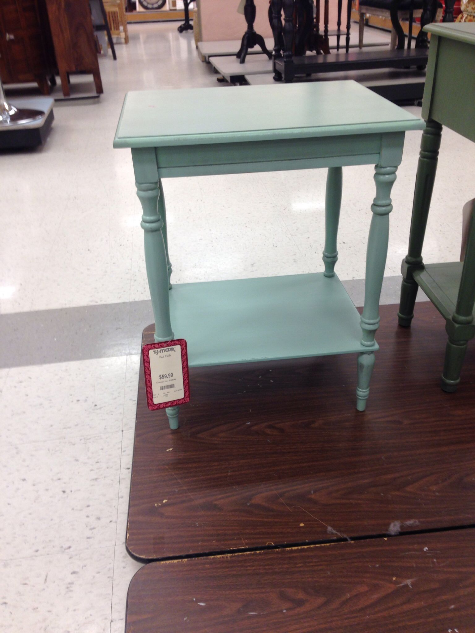 Beach End Table From Tj Maxx Country Style Decor Home Goods Home Decor