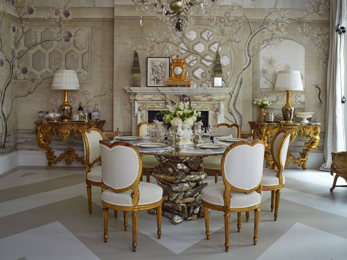 How to style a console table kips bay showhouse
