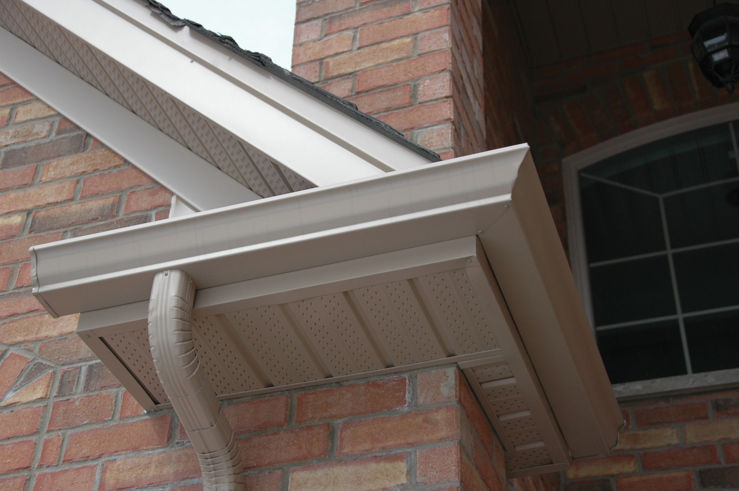 How to paint fascia boards - Sandalwood Soffit Fascia And Eavestrough Gentek