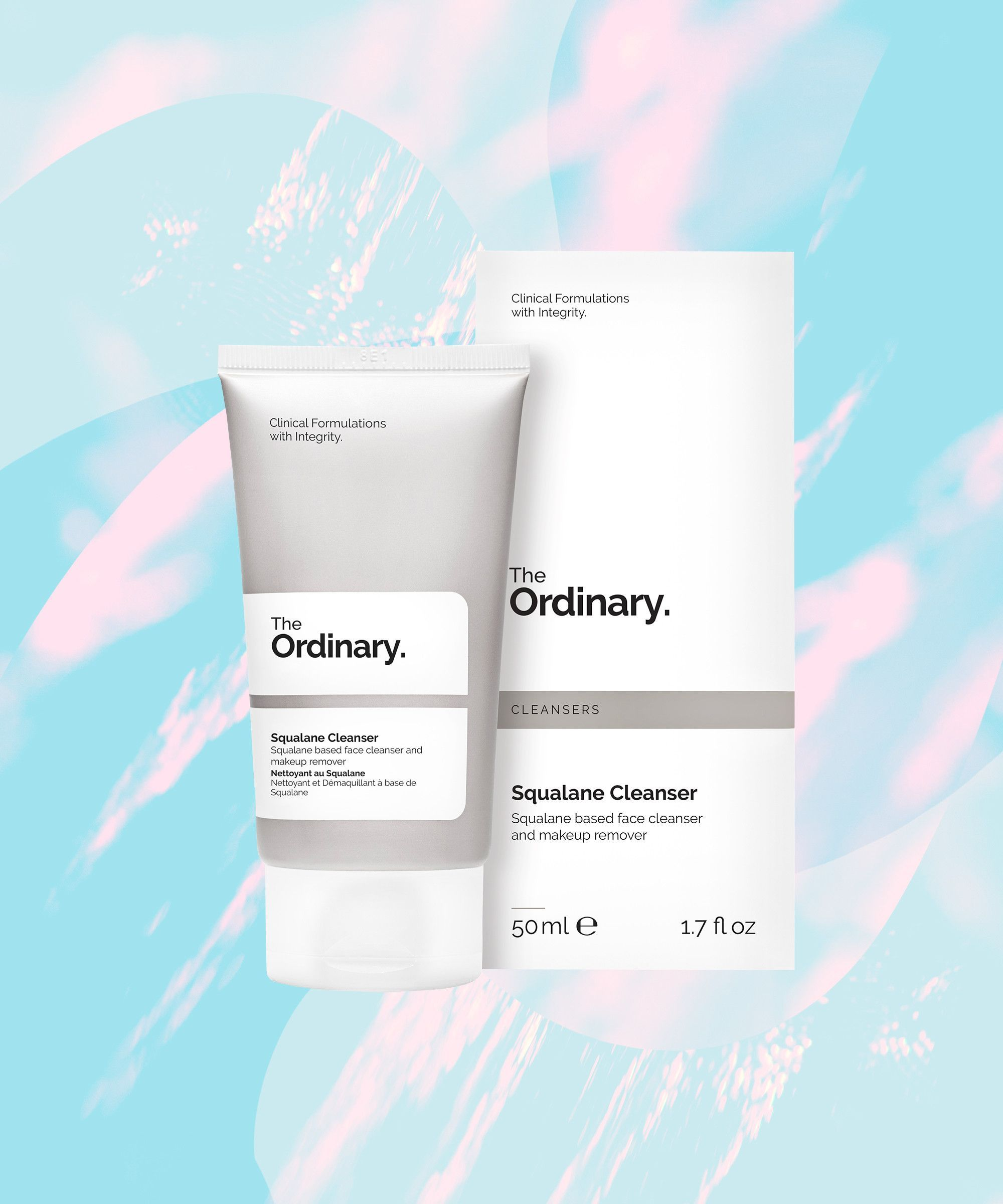Squalane Cleanser Cleanser, Makeup wipes, Face cleanser