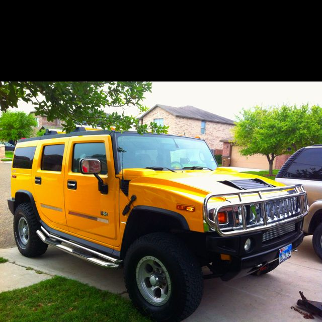 Still dreaming of the day that I will own my yellow Hummer so I can