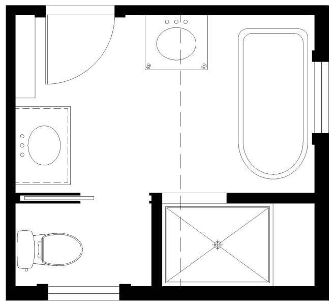 Tub Shower Combo 2 Sinks Or Separate Tub Shower 1 Sink Bathroom Layout Bathroom Layout Plans Trendy Bathroom Tiles
