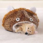 Weetzie Bat needs this. Found it at Wayfair - Jungle Leopard Print Cat Cave