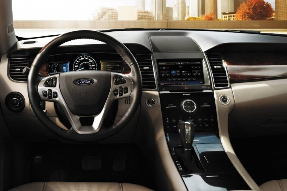 2017 Ford Taurus Interior With Lcd Screen Dashboard 2014 Ford