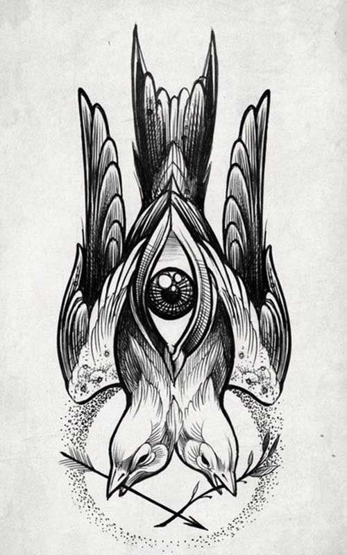 14 Swallow Tattoo eskizi Pinterest Swallow tattoo, Swallows