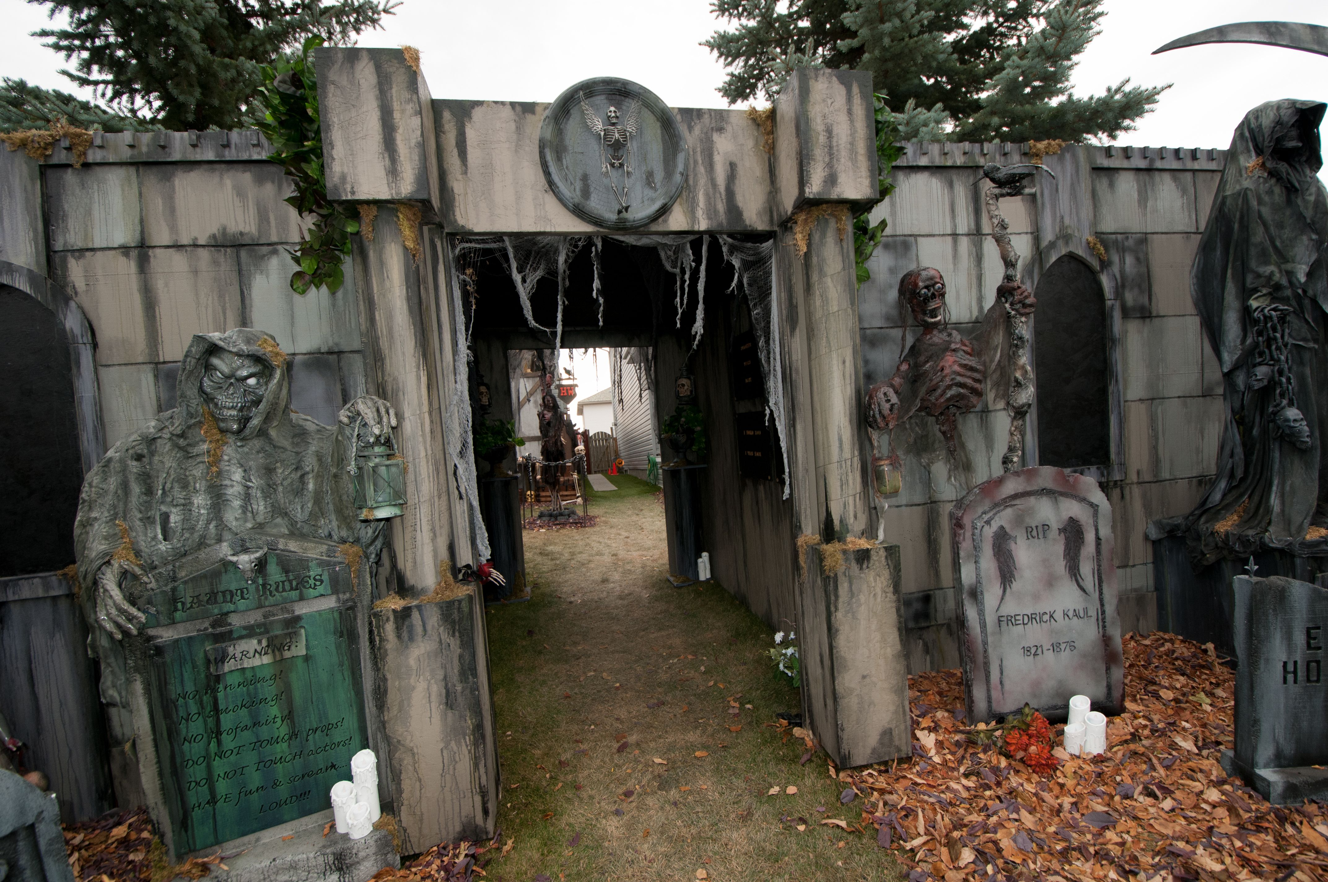 Cemetery Facade 2014 Facades Scenes Haunted