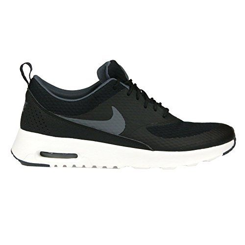 Nike Women's Air Max Thea TXT Running Shoe ( B(M) US, Black/Dark