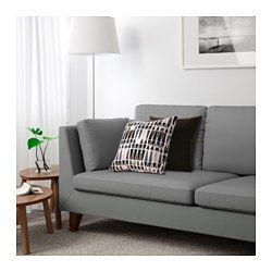 Ikea Stockholm Sofa Röstånga Gray The Cover Is Easy To Keep Clean As It Removable And Can Be Machine Washed Seat Back Cushions Provide