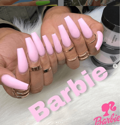 40 Amazing Ombre Gradient Nails Ideas 2020 Selectedins In 2020 Barbie Pink Nails Pink Nails Long Nails
