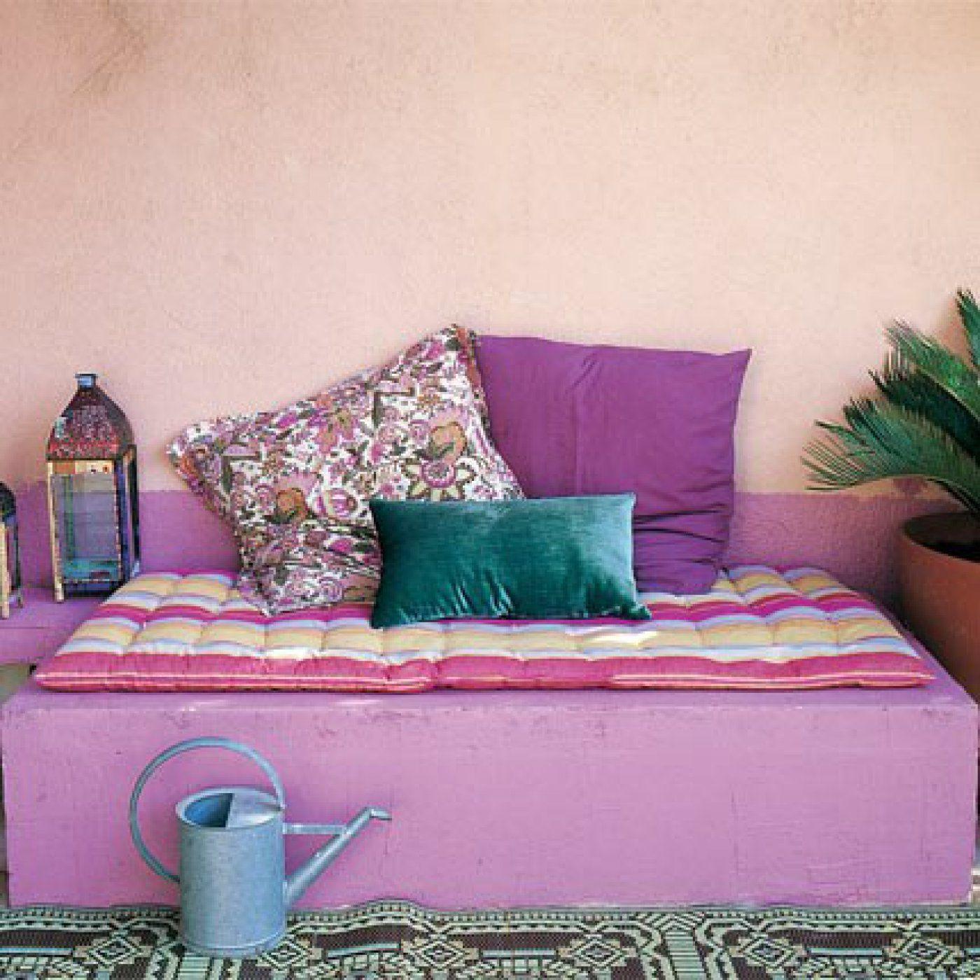 fabriquer une banquette en b ton cellulaire pinterest. Black Bedroom Furniture Sets. Home Design Ideas