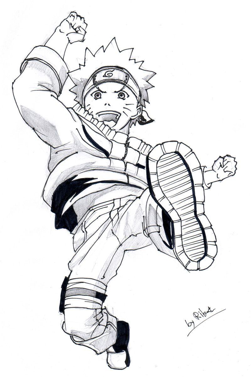 Dibujos de Naruto para Colorear en 2020 Naruto para