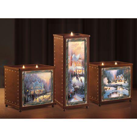 "декор для дома, авторские подсвечники - Подсвечники ""Тёплая зима"". 2 вида."