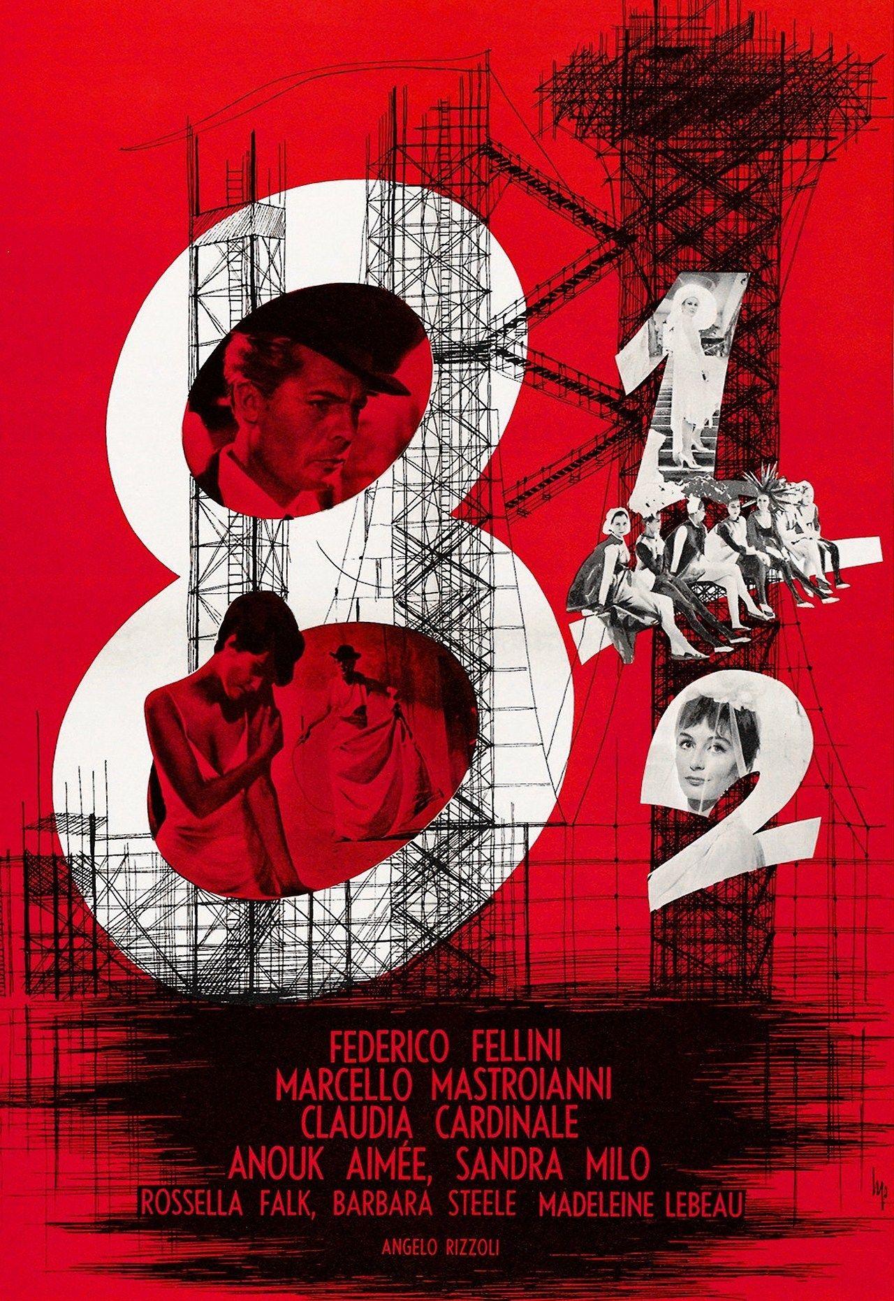 8 1 2 Federico Fellini Movie Posters Vintage Movie Posters Vintage Movies