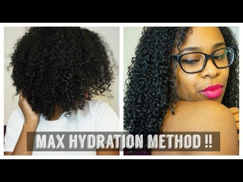 Max Hydration Method On 3c Hair Youtube Natural Hair Styles
