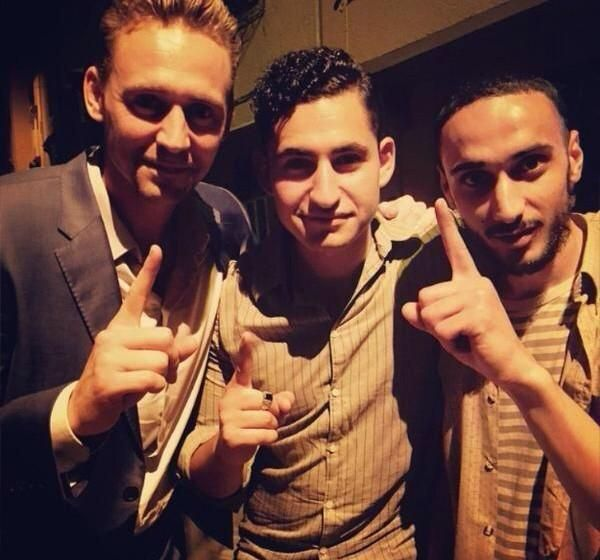 Thanks to the source on Instagram - on the set of BBC mini series 'The Night Manager' (to be aired in 2016) in Marrakesh