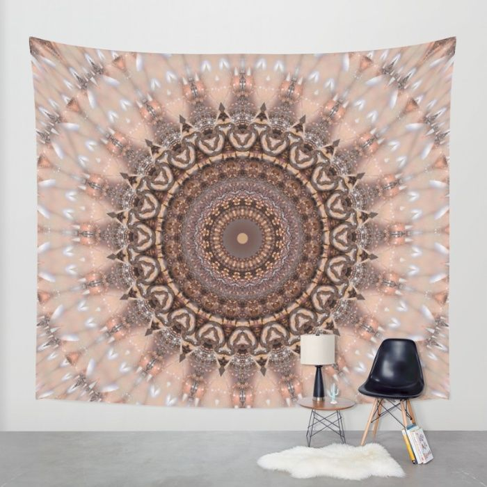 Promo ends today!  Buy Mandala romantic pink Wall Tapestry by Christine baessler. Worldwide shipping available at Society6.com. Just one of millions of high quality products available.