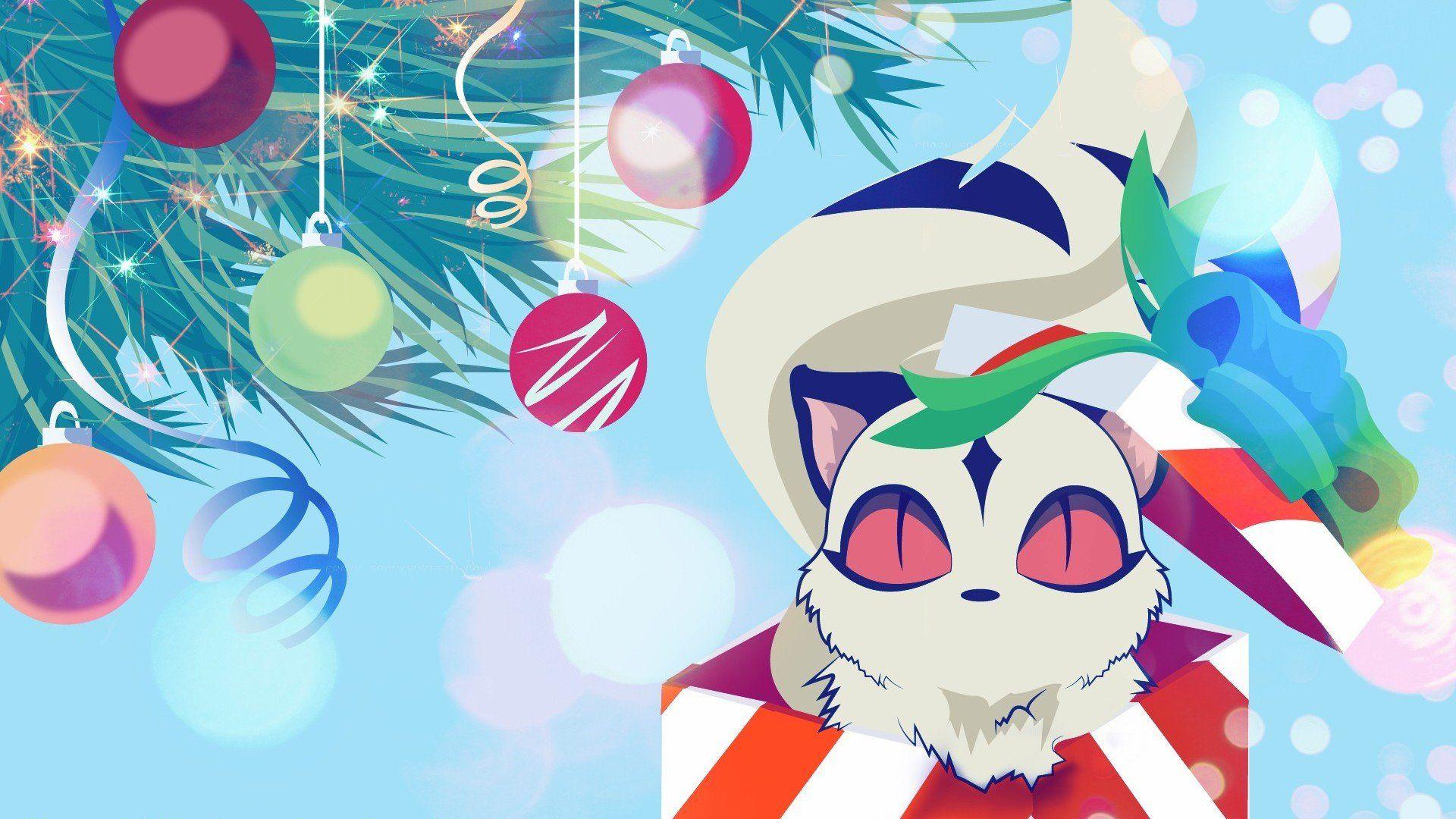 Inuyasha Anime Manga Kirara Christmas Xmas Posters Wallpapers