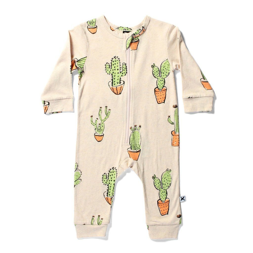 32af151cc Minti Baby Cactus Jumpsuit ~ Cool Baby Clothes ~ Tiny Style ...