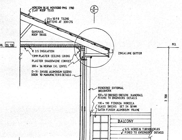 Wall Section Detail Drawing Google Search Detailed Drawings Roof Trusses Clay Roof Tiles