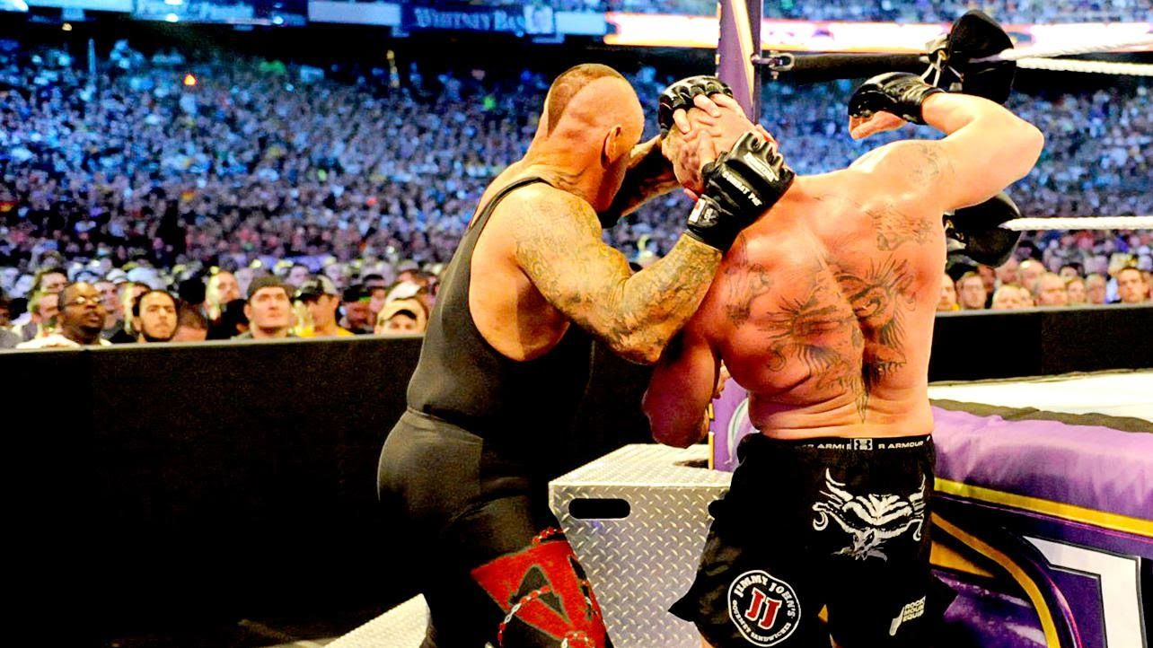 WWE WrestleMania 30 - Brock Lesnar Vs The Undertaker HD ...