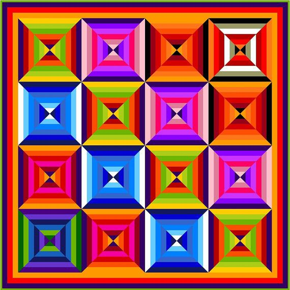 HUBBA HUBBA  82  Quilt-Addicts Pre-cut Quilt by quiltingaddiction