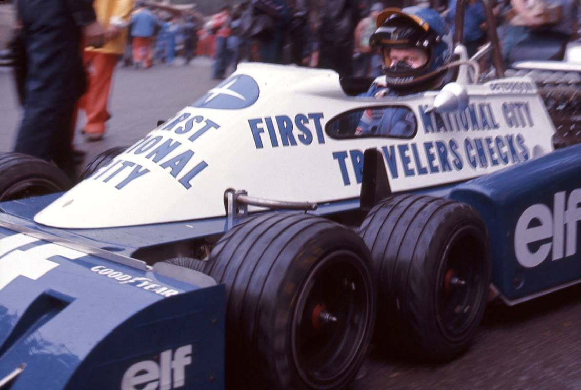 1977 - Ronnie Peterson - Tyrrell P34
