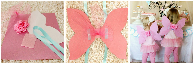 Alas de mariposa para cumplea os infantiles mariposas - Fiestas de cumpleanos para adultos ...