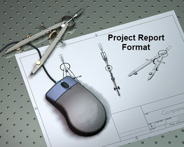 Project Report Format for Final Year Engineering Students Project - project report